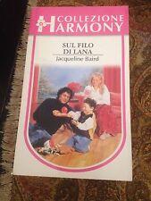 JACQUELINE BAIRD SUL FILO DI LANA BUONO!!HARMONY