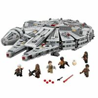 1381Pcs Compatible Star Wars Millennium 05007 Falcon Spacecraft Building Blocks