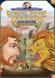 Greatest Heroes Legends Bible DVD Daniel And The Lions Den -Kids Christian Movie