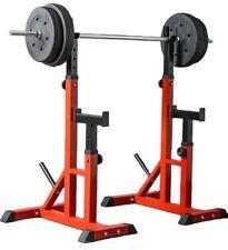 Squat Rack 200kg Adjustable Height Half Rack Power Rack Home Gym Training