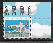 j547 SCHWEIZ/ Flugzeuge MiNr 1369 o Ersttagstempel