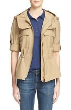 NWT Burberry Brit Bartleigh Anorak with Hood Jacket Honey $795 – US 10