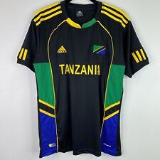Adidas Tanzania Soccer Football Jersey Top Shirt Size Large Mens