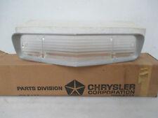 Mopar NOS 1973 Dodge Polara, Front Bumper Left or Right Park Lamp Lens 3620850