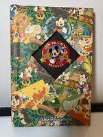 "WALT DISNEY WORLD Rare 2002 WDW ""PIN Trading Journal"" MICKEY Medallion Cover"