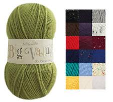 100g Ball Big Value DK Double Knitting Wool King Cole 100% Premium Acrylic Yarn