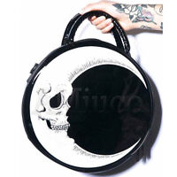 Steampunk Totes Lightning Handbag Gothic Skull Moon Bag Messenger Crossbody Bags