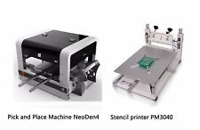 Smt Line Pick And Place Machine Vision System Neoden4 A Stencil Printer Pm3040