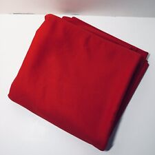"""2.25 Yards Red Double Knit Fabric 64"""" wide"""