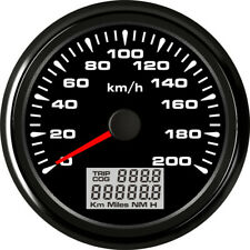 85mm GPS Speedometer Odometer 200km/h For Car Truck Motorcycle 7Colors Backlight