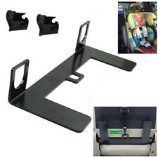 Universal ISOFIX Mount Base Autos Safety Seat Belt Bracket Latch 5mm Steel Solid