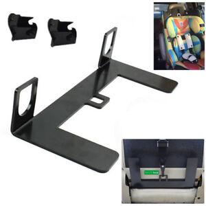 Universal ISOFIX Mount Base Autos Safety Seat Belt Bracket Latch 5mm Steel Solid