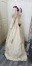 Halloween dead zombie bride wedding dress and veil Medium customised