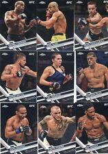 2017 TOPPS UFC CHROME SET (1-100) CONOR McGREGOR FRANCIS NGANNOU DEBUT RC GSP