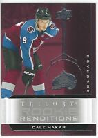 2019-20 Upper Deck Trilogy Rookie Renditions RR-1 Cale Makar RC