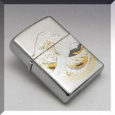 Zippo Japan Ocean Sea Wave Electroforming Beautiful Japanese Design Collection