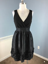 BCBG Max and Cleo Black FIt Flare Cocktail Party Dress XS 2 Excellent