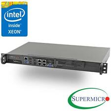 Supermicro Xeon D-1528 6-Core Mini 1U Rackmount w/ Dual 10GbE, RS-SMX106C4N-FIO