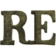 UK Dug Detecting Find - WW1 Royal Engineers Corps Shoulder Title Badge NC17