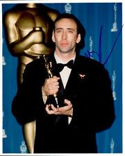 Nicholas Cage signed authentic 8x10 photo COA