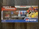 Hasbro Transformers Pepsi Convoy Trailer Optimus Prime Botcon 2007 New Sealed