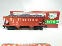 BI668-2# LGB Spur G/DC 4076 - M 01 US-Hopper/Güterwagen Klauenkupplung, TOP+OVP