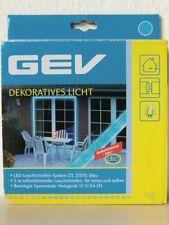 GEV LED Leuchtstreifen System LTL 021310 Blau selbstklebend 5 m Lichtband
