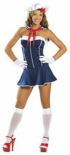 3pc Sexy Sailor S/M 6- 8 Fancy Dress Costume Hen Night Party