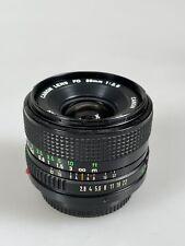 Canon FD 28mm f2.8 Lens 28/2.8