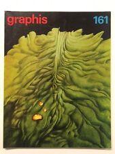 Graphis 161 Vintage International Design Advertising Illustration 1972-73 Herdeg