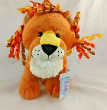 "Ganz Webkinz Curly Lion Plush 8"" HM728 Stuffed Animal"