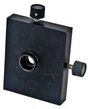 Optical Laser Precision Adjustable 2 Axis Lens Xy Positioner 1 Mirror Mount