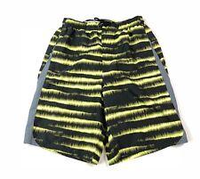 Nike Swim Trunks Medium Men's Striped Shorts Pockets Lined Drawstrings