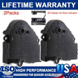 2X Heat Heater A/C Fan Air Vent Blend Door Actuator for Chevy GMC Pickup 604-112