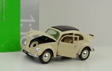 WELLY 1:18 AUTO VOLKSWAGEN BEETLE CREMA   ART. 18040