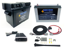 LIGHTNING Premium Dual Battery System - Quick Connect Wiring Kit + DCDC Charger