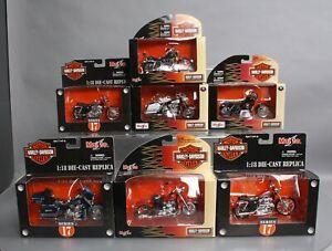 Maisto 1:18 Scale Harley Davidson [8] LN/Box