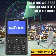 DVB-S FTA lnb Satlink WS-6906 Satellitenfinder Meter Sat Messgerät Bild & Ton