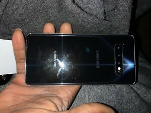 Samsung Galaxy S10+ SM-G975W - 128GB - Prism Black (Unlocked) (Single SIM) (CA)