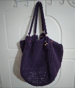 handmade crochet bag for women