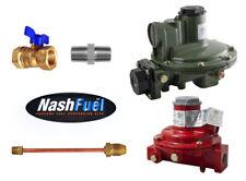 Marshall Regulator Home Propane Supply Kit Lp 1122h Aaj 1652 Cff 34 Backmount