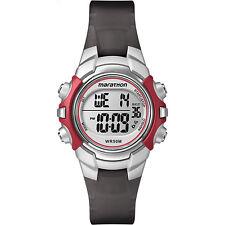 Timex Women's Marathon   Red/Black w Alarm, Stopwatch   Sports Watch T5K807