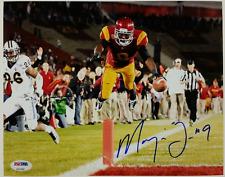 MARQISE LEE Signed 8x10 Photo #2 Auto USC Trojans Jaguars w/ PSA/DNA COA