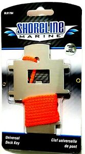 Shoreline Marine Universal Stainless Steel Deck Key (SL91784)