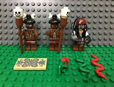LEGO Pirates of the Caribbean Minifigs Jack Sparrow Cannibal w/ Cannibals 4182