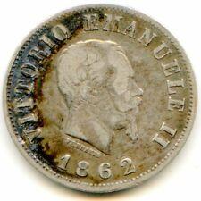 Italy 50 Centesimi 1862 N KM-4.3 lotjan8820