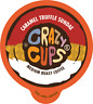 Crazy Cups Caramel Truffle Sundae Flavored Coffee For Keurig KCups 22 or 80ct