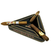 Black Outdoor Ashtray, LARGE TRIANGLE MONTECRISTO Cigar Ashtray