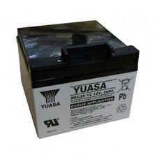 Yuasa REC26-12 26ah Golf Battery for Powakaddy T Bar Included
