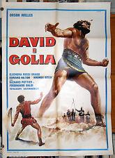 manifesto 2F film DAVID E GOLIA Ferdinando Baldi Ivo Payer Kronos 1970 peplum